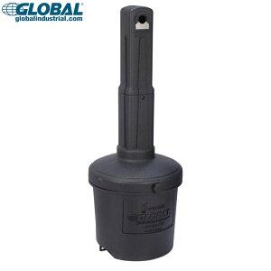 灰皿 グローバルインダストリアル アウトドア灰皿 5ガロン (ブラック) Global Industrial 屋外用 スタンド アシュトレイ 喫煙具 アメリカン雑貨