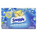 スナッグル シート柔軟剤 EX ブルーアイリス&オーシャンブリーズ 70枚 Snuggle 洗濯用品 日用品 アメリカ雑貨 アメリ…