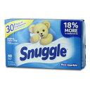Snuggle スナッグル シート柔軟剤 (ブルースパークル )40枚 アメリカ雑貨 アメリカン雑貨
