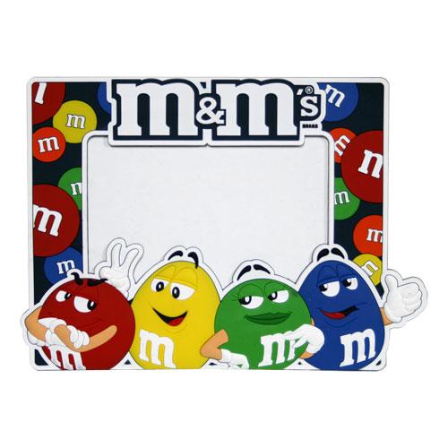 フォトフレーム 可愛い ラバー製 m&m's エムアンドエムズ アメリカン雑貨