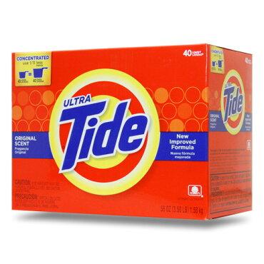 【Tide】タイド洗濯洗剤粉末(オリジナルセント)40回(56oz1.58kg)