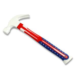 工具 おしゃれ USAフラッグ柄 ハンマー (ホワイト) 星条旗 アメリカ 国旗 金槌 アメリカン雑貨 アメリカ雑貨