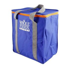 保冷バッグ ホールフーズ ダークブルー WHOLE FOODS MARKET クーラーバッグ アメリカ雑貨 アウトドア キャンプ バーベキュー