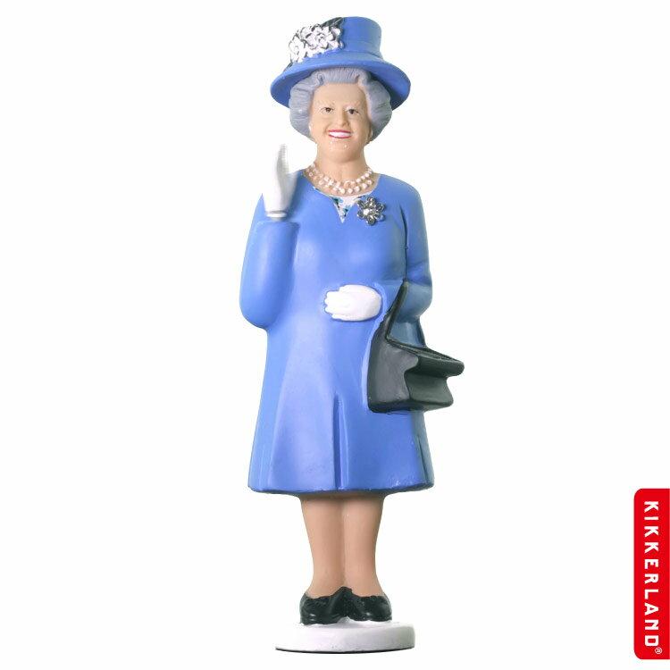 KIKKERLAND エリザベス女王 ソーラークイーン (ダービーブルー ) アメリカ雑貨 アメリカン雑貨