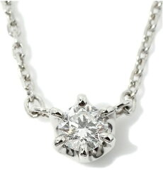 4℃ ヨンドシー プラチナ ダイヤモンド ネックレス
