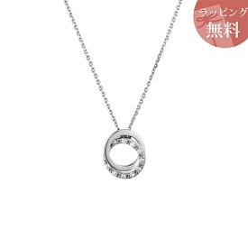 ヨンドシー ネックレス ダイヤモンド サークルモチーフ プラチナ 4℃ レディース ジュエリー