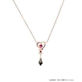 サマンサティアラ ネックレス 美少女戦士セーラームーン コレクション ブラック・レディ ネックレス SV ピンク Samantha Tiara サマンサ ティアラ