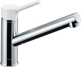 ∠《あす楽》◆15時迄出荷OK!INAX/LIXIL キッチン用水栓金具 ワンホールタイプ【SF-WL420SYX(JW)】シングルレバー水栓 ノルマーレS 逆止弁