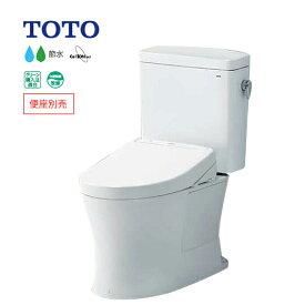 ###&《あす楽》◆15時迄出荷OK!TOTO ピュアレストQR【CS232B+SH232BA】NW1ホワイト 一般地 床排水 排水芯200mm 手洗なし