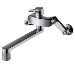 壁付シングル混合水栓(エコシングル、共用) TKS05316J