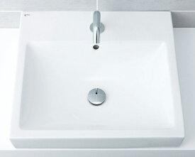 ▽INAX/LIXIL 角形洗面器【L-536ANC】ベッセル式 本体のみ カラン穴対応 ANC