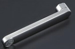 TOTO 水栓金具取替えパーツ【THYB77-3】自在スパウト300mm(接続ねじW26山20) ※整流キャップ付き