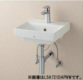 ###TOTO セット品番【LSC721AASNW】ベッセル式洗面器セット一式 立水栓 目皿仕様 (目皿盗難防止仕様) 壁給水 床排水