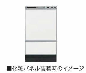 リンナイ 食器洗い乾燥機 オプション【KWP-F402P-W】(ホワイト) フロントオープンタイプ用 化粧パネルセット 表面:光沢