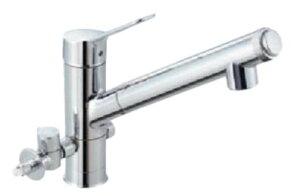 LIXIL INAX オールインワンAJタイプ 浄水器内蔵型シングルレ...
