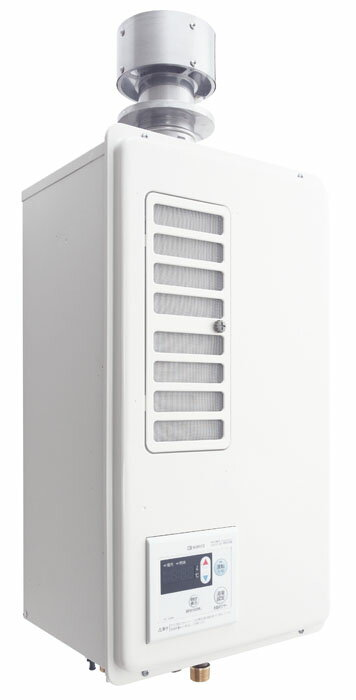 ###♪ノーリツ ガスふろ給湯機【GQ-C1622WZD-FH】16号業務用給湯器 厨房用給湯器 エコジョーズ屋内壁掛形 ダクト接続形(フード対応)