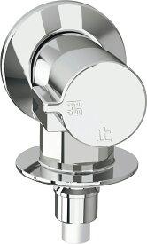 ∠《あす楽》『カード対応OK!』◆15時迄出荷OK!INAX 洗濯機用水栓金具【LF-WJ50KQ】緊急止水弁付横水栓 単水栓 露出タイプ(屋内専用)