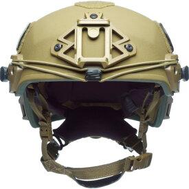 ■〒TEAM WENDY社/TEAMWENDY 保護具【73-32S-E32】(8202601)Exfil バリスティックヘルメット コヨーテブラウン サイ 受注単位1