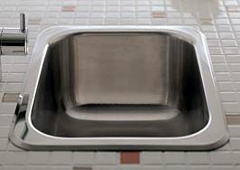 CERA/セラ【KDQS1113S】パーティーシンク ステンレス 排水目皿付