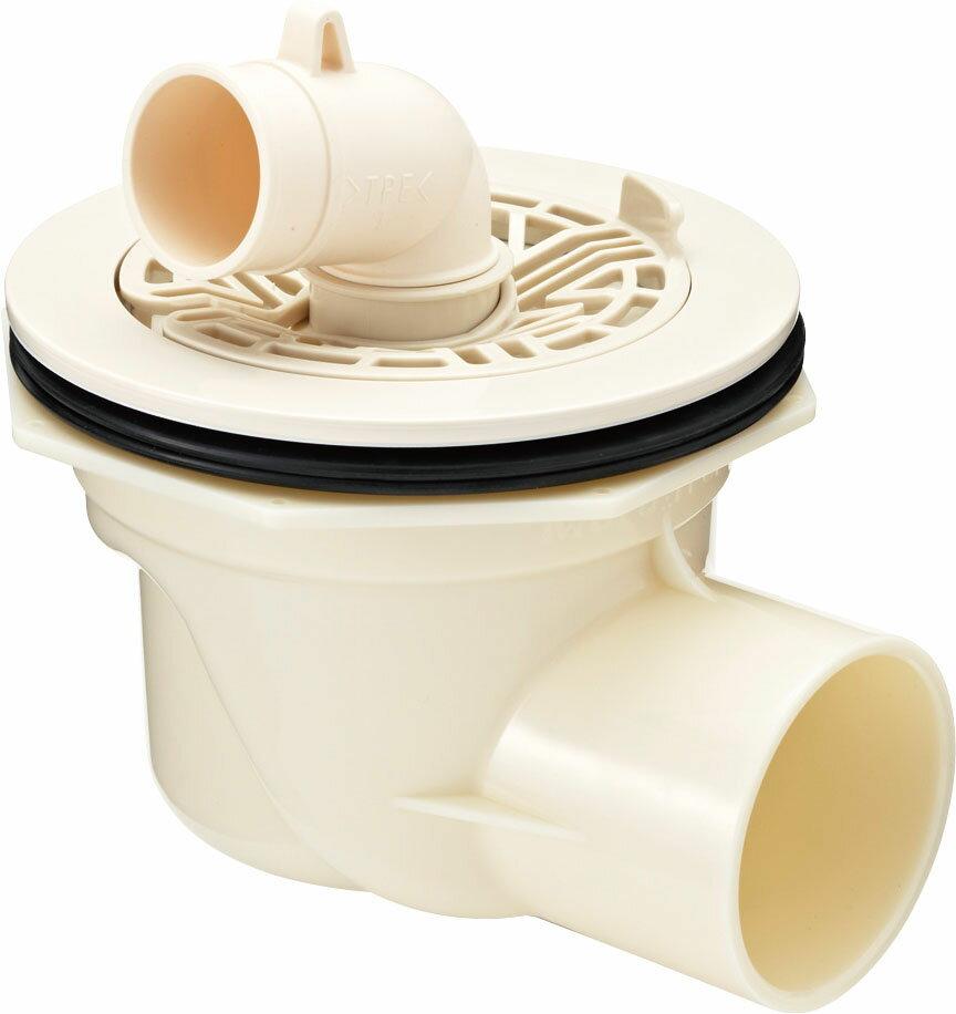 《あす楽》『カード対応OK!』◆15時迄出荷OK!▽INAX ユーティリティ 洗濯機パン 部材【TP-52】ABS製排水トラップ(ヨコビキ)