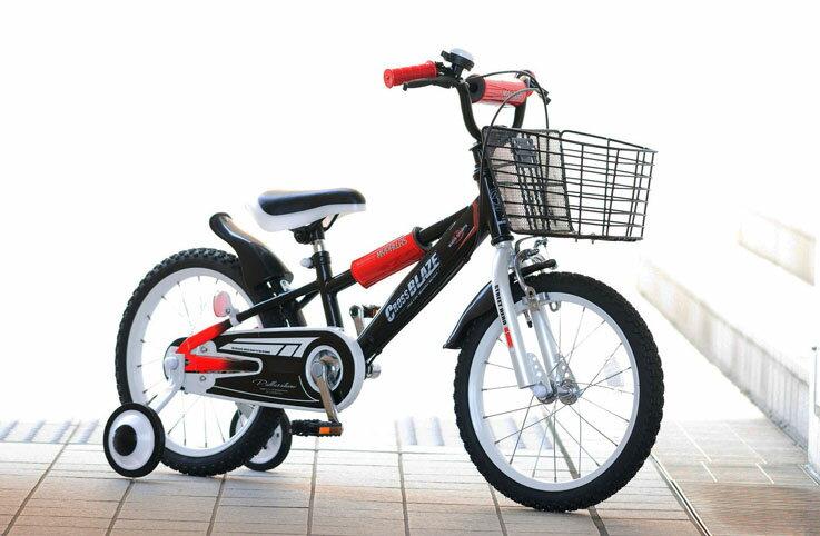 『カード対応OK!』###ω池商 マイパラス/MYPALLAS【MD-10 BK】ブラック 子供用自転車16インチ