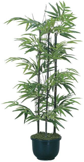 【送料無料】《竹・バンブー》《アートグリーン》《人工観葉植物》光触媒 光の楽園 黒竹1.0