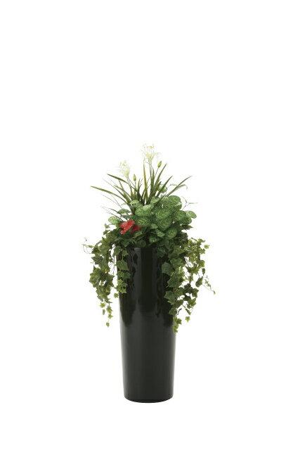 《アートグリーン》《人工観葉植物》光触媒 光の楽園 寄せ植えユッカ1.3