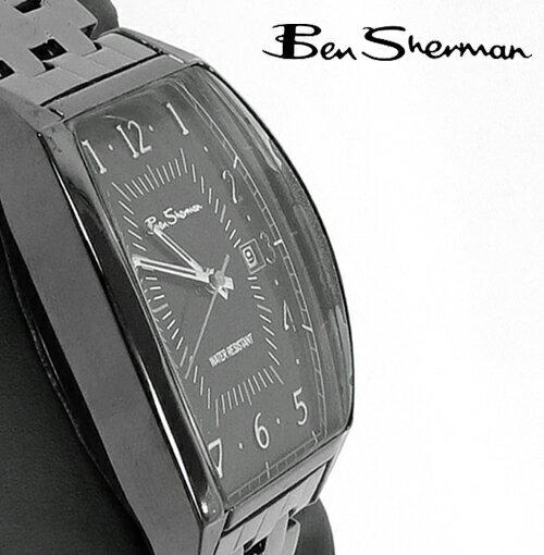 セール ベンシャーマン Ben Sherman ブラック フェイス 腕時計 【送料無料】 メンズ ベンシャーマン プレゼント ギフト