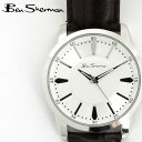 ベンシャーマン Ben Sherman 腕時計 ホワイトシルバーフェイス 円形 17SS 新作 春物 メンズ モッズ ギフト 父の日
