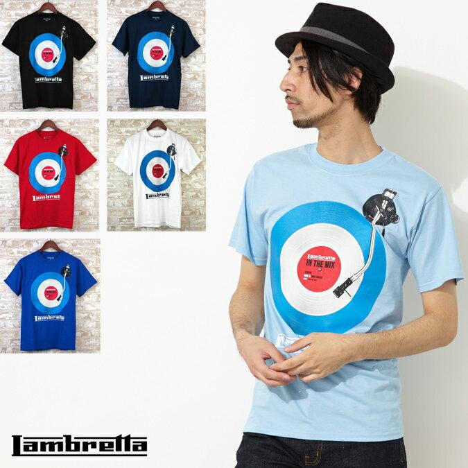 Lambretta Tシャツ 6色 イン ザ ミックス ターゲットマーク ランブレッタ メンズ プレゼント ギフト