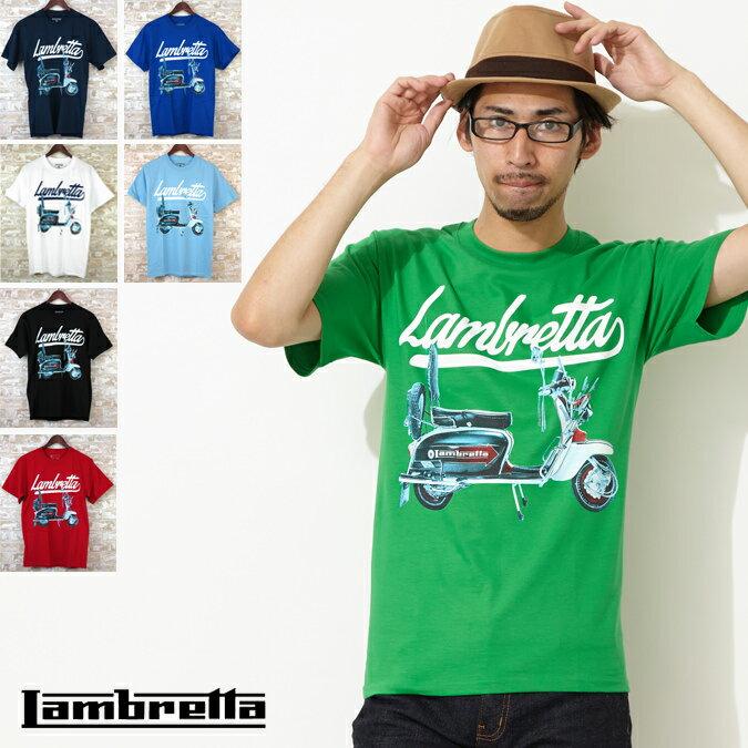 Lambretta Tシャツ 7色 スクーター ランブレッタ メンズ プレゼント ギフト