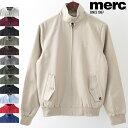 メルクロンドン メンズ ハリントンジャケット Merc London 12色 スイングトップ ハリントン ブルゾン プレゼント ギフト