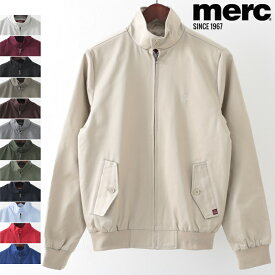 メルクロンドン メンズ ハリントンジャケット Merc London 12色 スイングトップ ハリントン ブルゾン ギフト