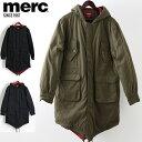 SALE セール メルクロンドン メンズ モッズコート Merc London モッズパーカ 3色 ネイビー グリーン ブラック モッズファッション プレ…