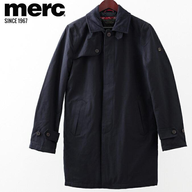 セール メルクロンドン Merc London マックコート W1 プレミアム ネイビー キルティング メンズ モッズファッション プレゼント ギフト