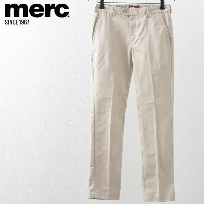 Fセール メルクロンドン トラウザー チノパン メンズ モッズ メルク ボトムス パンツ ズボン クリーム Merc London プレゼント ギフト