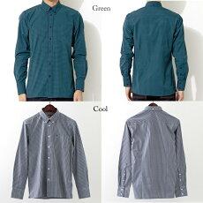 セールSALEメルクロンドンMercLondonギンガムチェック長袖シャツ6色メンズモッズファッションプレゼントギフト