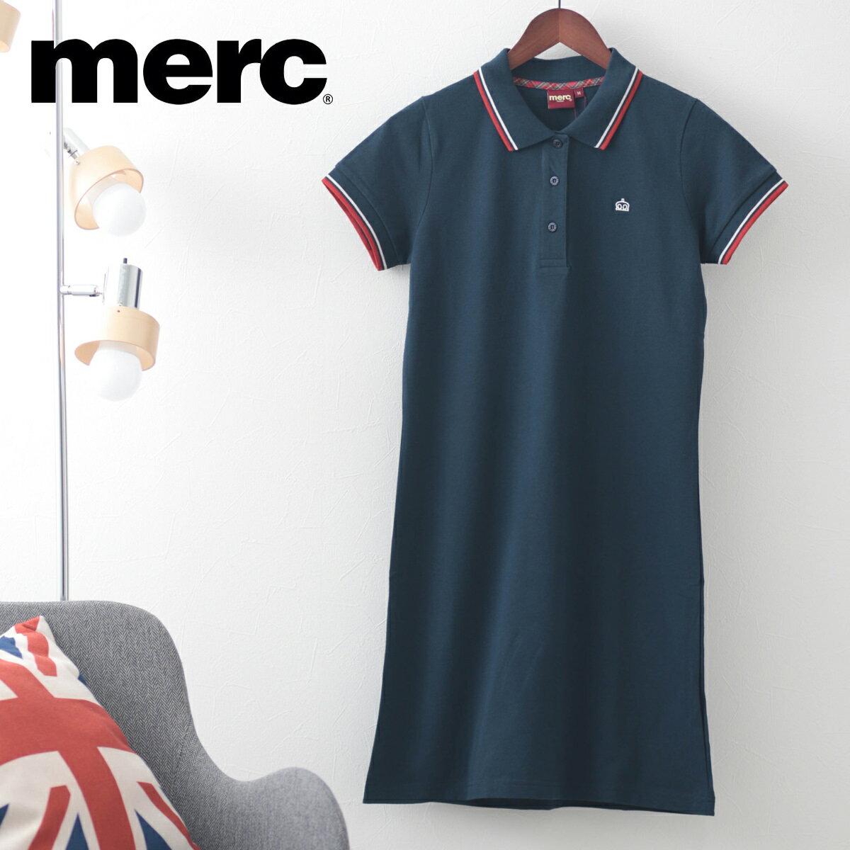 Fセール メルクロンドン Merc London ワンピース ワンピ ポロ ドレス ネイビー ブラック レディース モッズファッション プレゼント ギフト