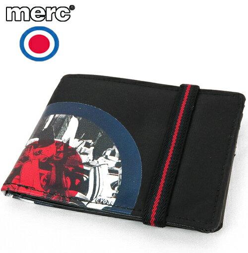 メルクロンドン Merc London フォト プリント ターゲットマーク 二つ折り 財布 メンズ プレゼント ギフト