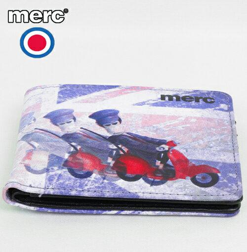 メルクロンドン Merc London 財布 フォトプリント ウォレット メンズ モッズファッション プレゼント ギフト