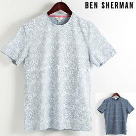 ベンシャーマン Ben Sherman Tシャツ フローラル フラワー 2色 メンズ 花柄 メンズ プレゼント ギフト