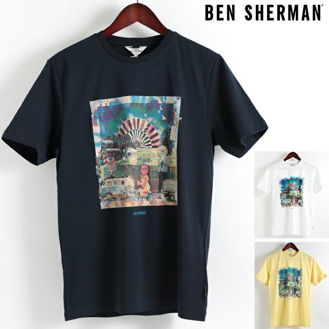 ベンシャーマン Ben Sherman Tシャツ ブライトン フェスト 3色 メンズ 2018 新作 メンズ プレゼント ギフト クリスマス