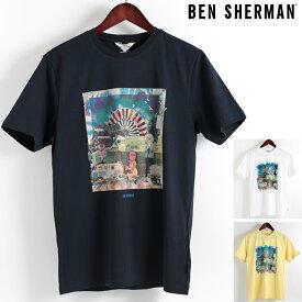 ベンシャーマン Ben Sherman Tシャツ ブライトン フェスト 3色 メンズ メンズ プレゼント ギフト
