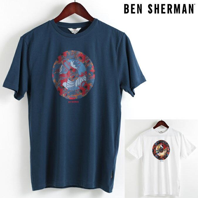 ベンシャーマン Ben Sherman Tシャツ ヒーロー ターゲットマーク 2色 メンズ 18SS 新作 メンズ プレゼント ギフト