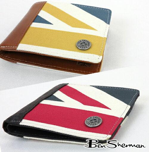セール ベンシャーマン Ben Sherman 二つ折り 財布 ユニオンジャック ビルフォード ウォレット メンズ プレゼント ギフト 父の日