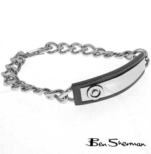 ベンシャーマン Ben Sherman ツートン ターゲットマーク ブレスレット メンズ 【送料無料】 プレゼント ギフト