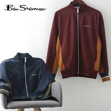 ベンシャーマンBenShermanトリコットトラックジャケット20AW新作ダークネイビーポート2色メンズプレゼントギフト