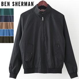ベンシャーマン メンズ ハリントンジャケット スイングトップ 6色 上着 アウター Ben Sherman スウィングトップ ギフト