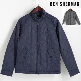 ベンシャーマン Ben Sherman ジャケット キルティング 2色 インディゴマール グラファイトグレー メンズ プレゼント ギフト