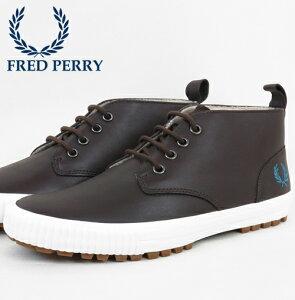 フレッドペリー Fred Perry スニーカー シューズ ブラムホール ミッド レザー フレッドペリー メンズ ハイカット ギフト トラッド